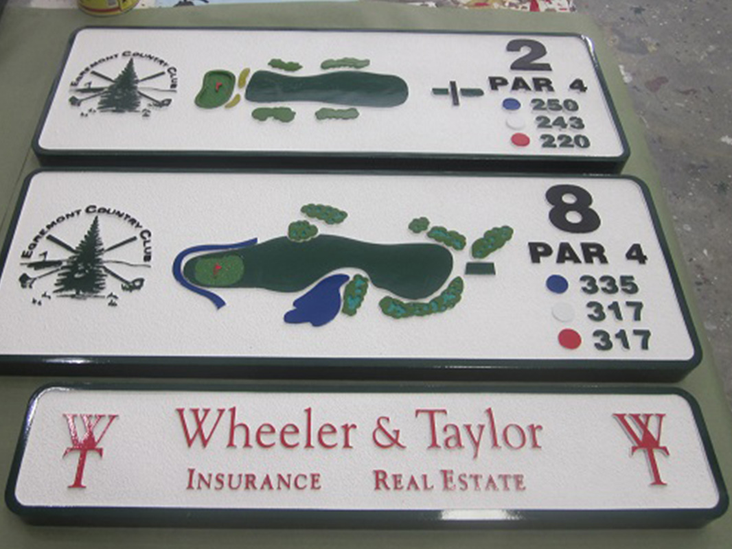 Golf course signs Honolulu