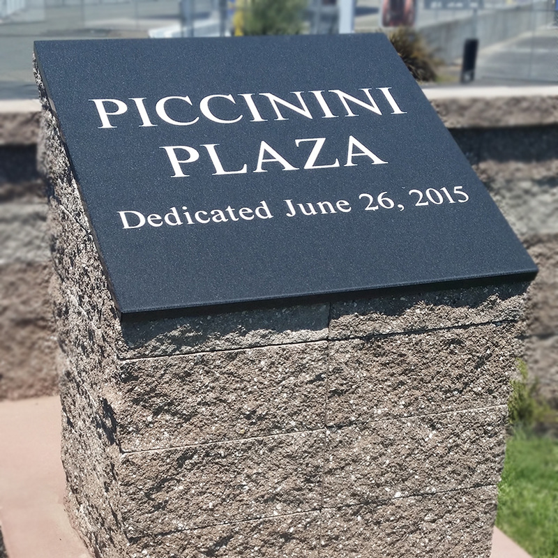 Dedication plaques and granite signs Honolulu Hawaii