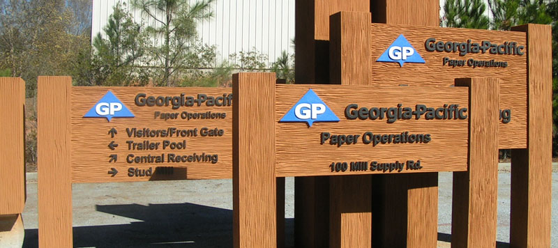 Way finding signage Honolulu, custom post and panel signs Honolulu