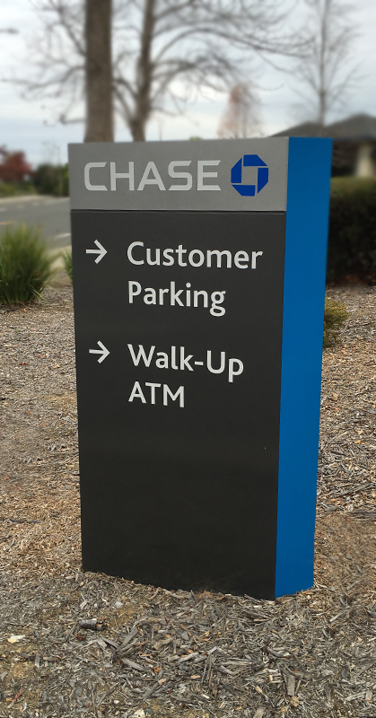 Way finding signage, bank signs, business signs Honolulu